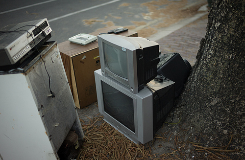 TV for disposal