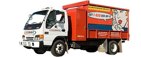 1-800 Rid-of-it Truck