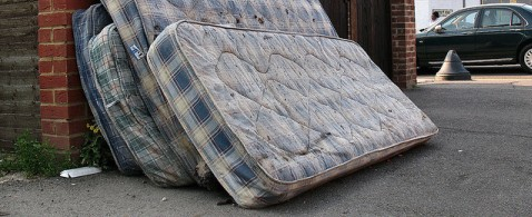 mattresses for removal